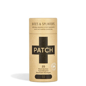 PATCH Bamboo bandages with Activated Charcoal - 25ct