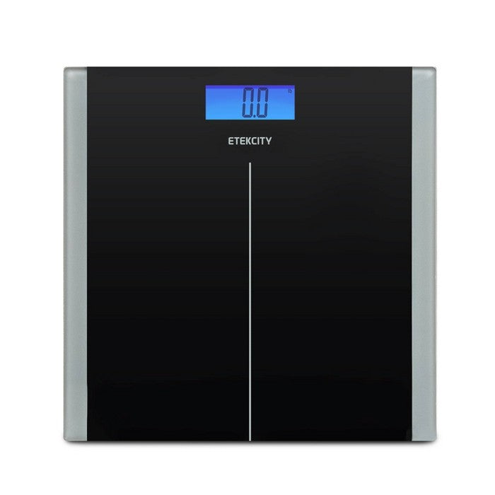 Digital Body Weight Scale with Resistance Bands Black - Etekcity