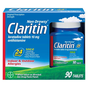 Claritin 24 Hour Non-Drowsy Allergy Relief Tablets - Loratadine