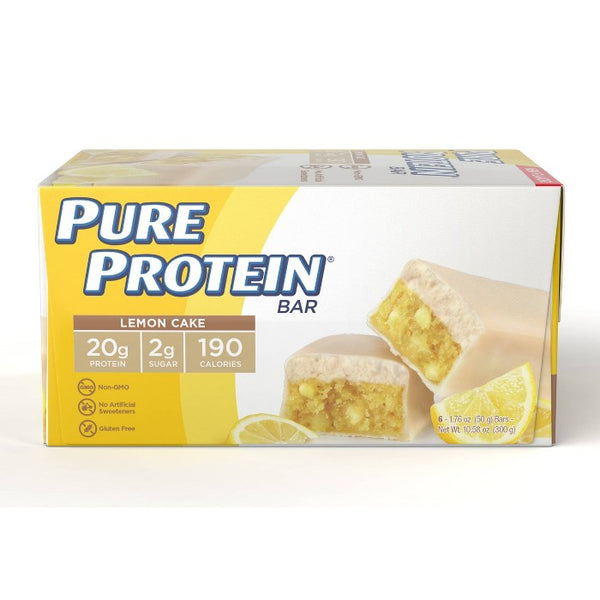 Pure Protein Bar - Lemon Cake - 6pk