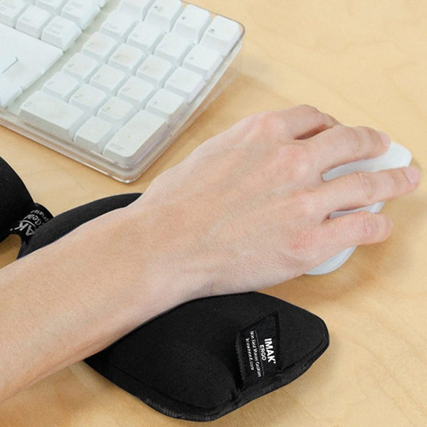 Brownmed IMAK Ergo Non-Skid Wrist Cushion for Mouse - Black