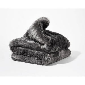 Faux Fur Duvet Cover for Weighted Blanket - Gravity