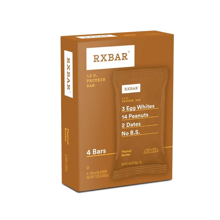 RXBAR Peanut Butter Protein Bars - 4ct