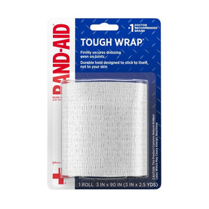Band-Aid Brand Secure-Flex Self-Adherent Wound Wrap - 3 In by 2.5 yd