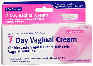 7 Day Vaginal Cream - 45g