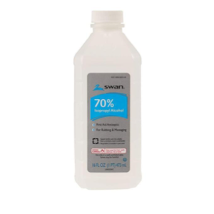 Rubbing Alcohol, 70% (16 Oz) (limit: 1/ order)
