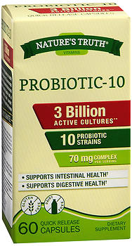 Probiotic Advanced 3 Billion Active Cultures - 60 Quick Release Caps