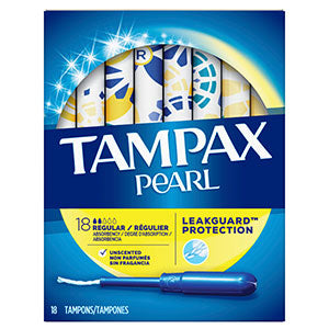 Tampax Pearl (18 count)