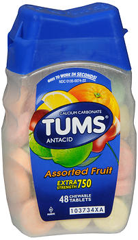 TUMS Antacid 48 Chew tablets