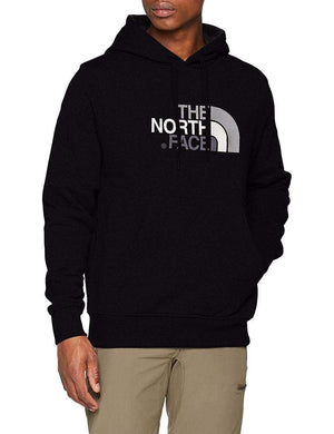The North Face, M Drew Peak Plv Hd, Felpa con Cappuccio, Uomo, Nero (Tnf Black), M