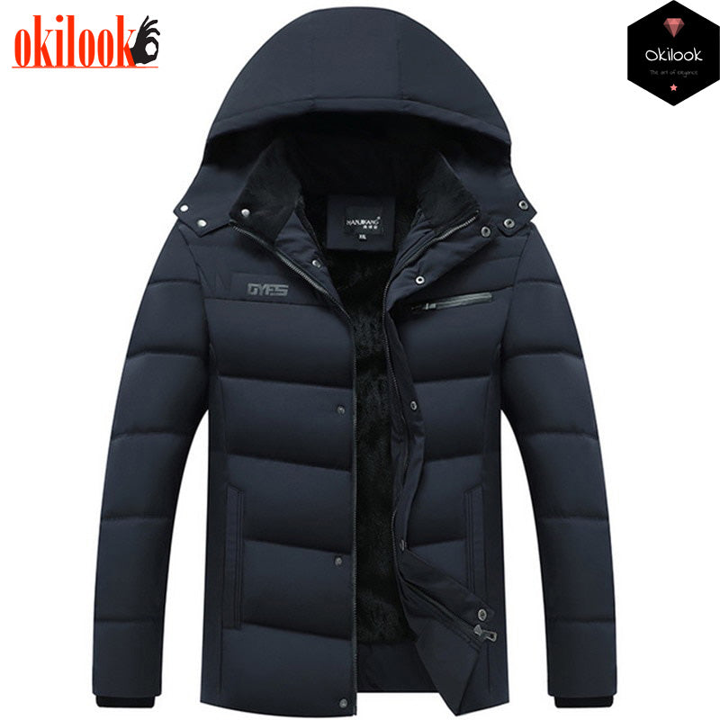 2019 Mens Winter Jacket Father's Gift Parka