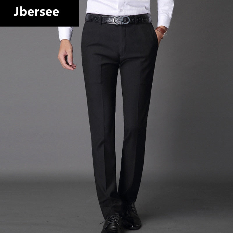 Fashion Business Male Casual Long Trousers Slim