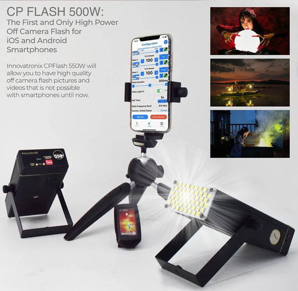 Capture Stunning Photos and Videos with Innovatronix Incorporated's CPFLASH 550W