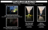 CPFlash 550W Trifunction Off-Camera Smartphone Flash (Patent Numbers : 2-2016-000506,  2-2016-000842,  2-2016-000505)