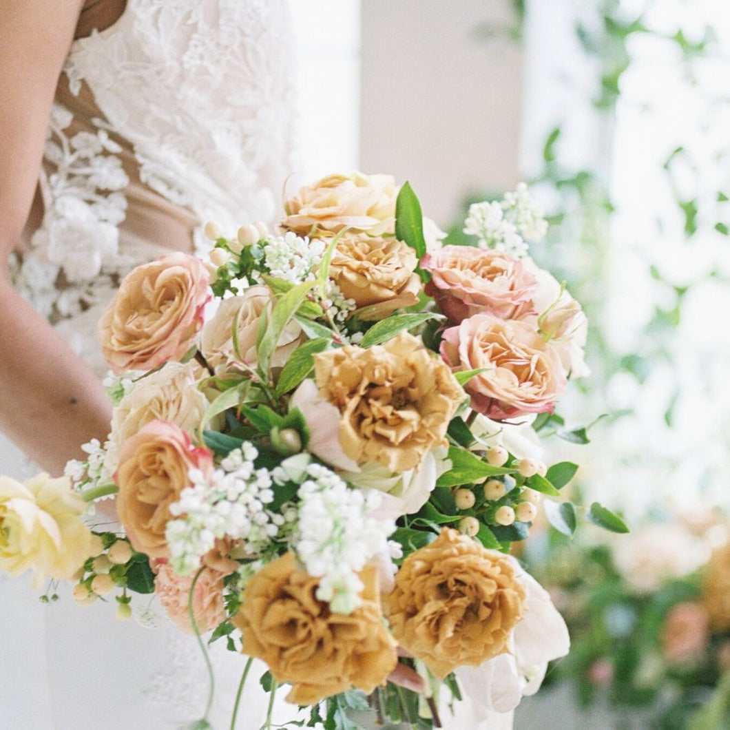 Golden Hour Bridal Bouquet