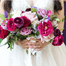 Load image into Gallery viewer, Berry Bridal Bouquet