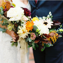 Load image into Gallery viewer, Autumn Glow Bridal Bouquet
