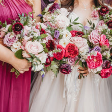 Load image into Gallery viewer, Berry Bridesmaid Bouquet