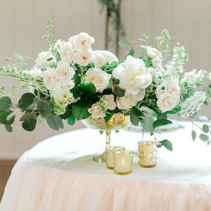 Garden White Centerpiece