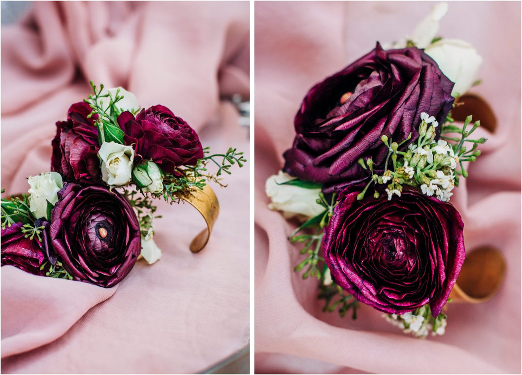 Berry Corsage