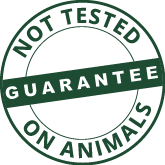 not tested on animals logo symbol guarantee