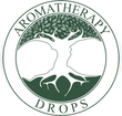 aromatherapy drops  green logo tree of life