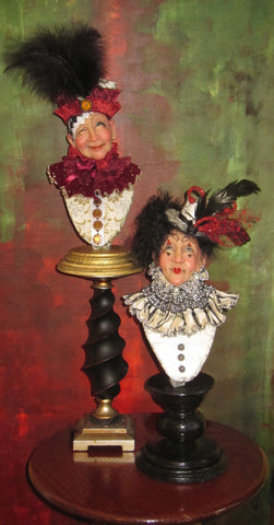 Carnival of Venice Busts