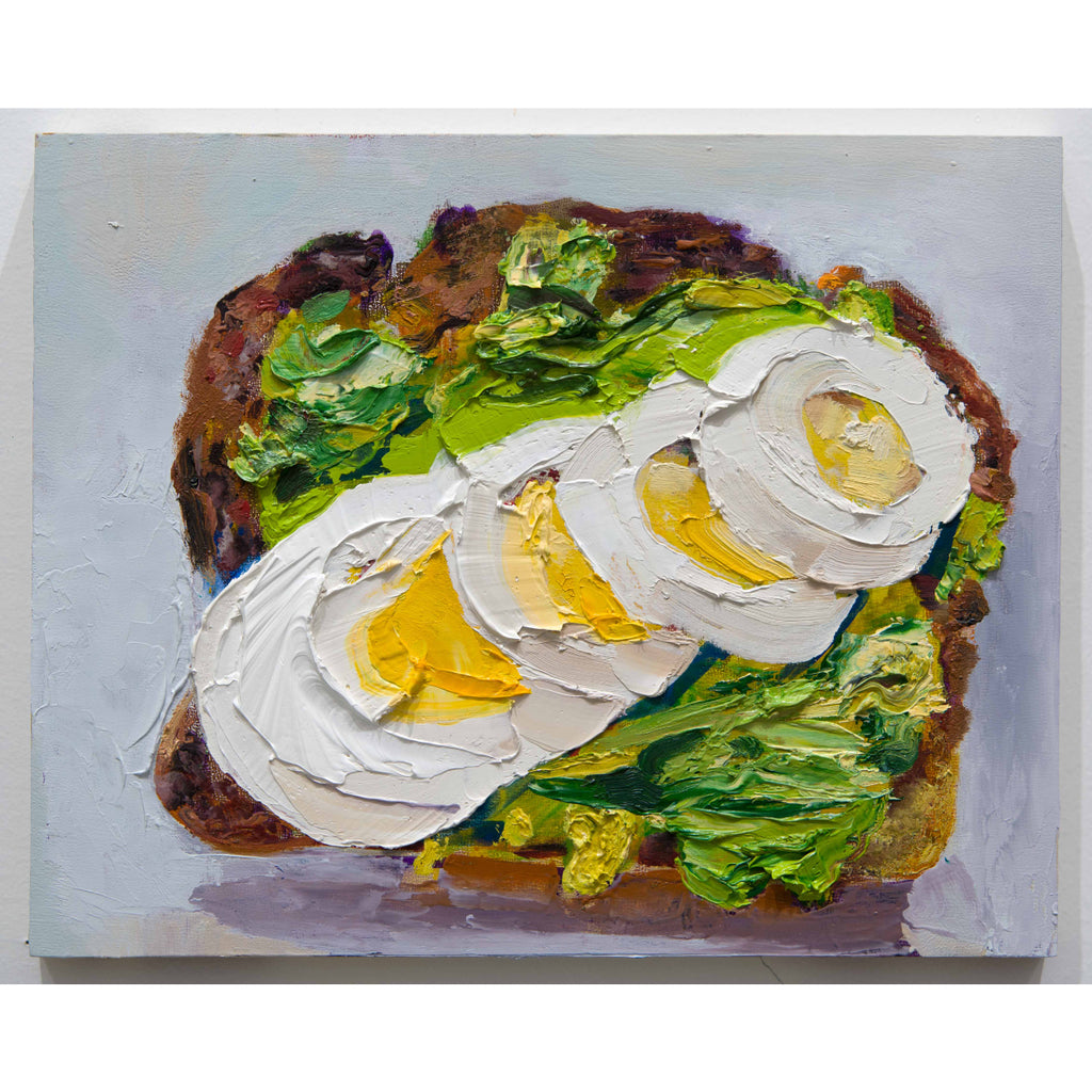 Avocado Toast with Egg Slices