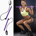 Body Shaping Pilates Bar with Resistance Bands