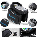 West Biking Bicycle handlebar bag waterproof - JagNadu