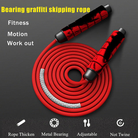Heavy Adjustable Weighted Skipping Jump Rope ( Free & Fast Shipping USA)
