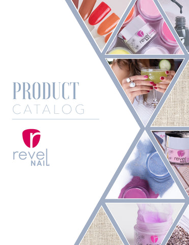 Revel Nail Product Catalog   Cover Page 1
