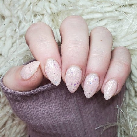 Divine Champagne Pink Dip Powder | Cancer Horoscope Manicure | Revel Nail | At Home Dip Powder Kit