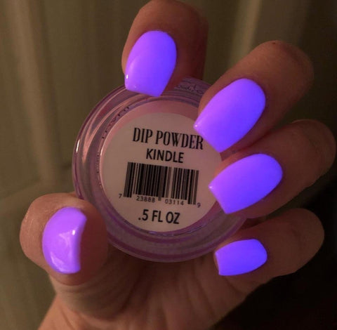 Purple Manicure | Glow in the dark Dip Powder | Revel Nail | At home Dip Kit