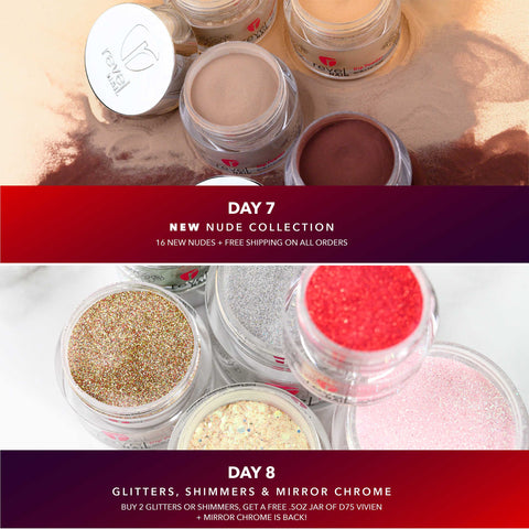 Choose you own Nude Kit | Glitters and Shimmer | Holiday Nail Trends