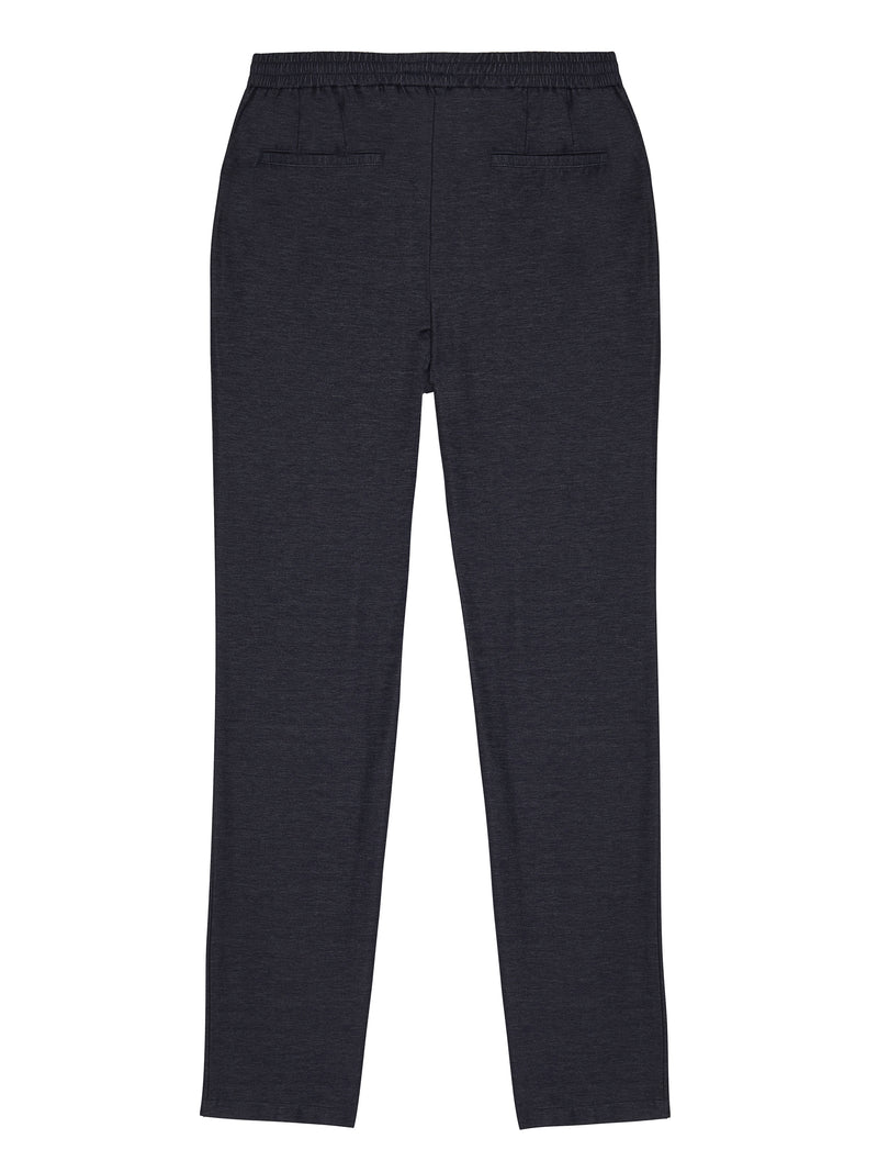 marl knit track pants