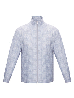 Patterned Lightweight Jacket