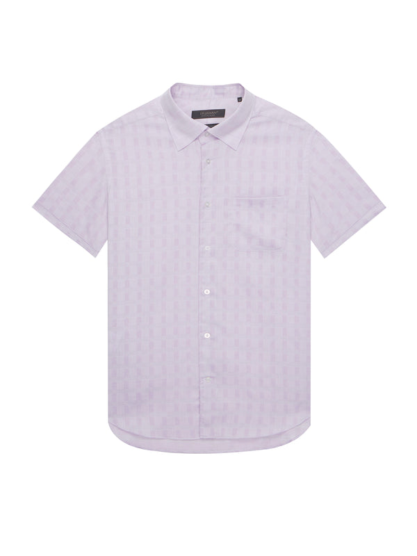 Short-Sleeved Buttoned Shirt