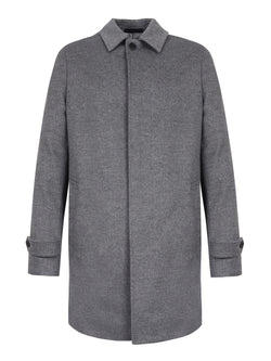 tailored wool coat