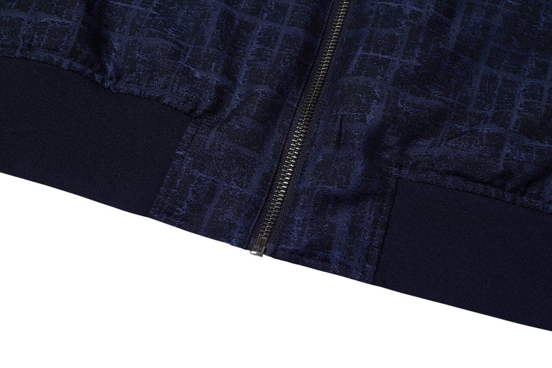 Contrast Panel Bomber Jacket