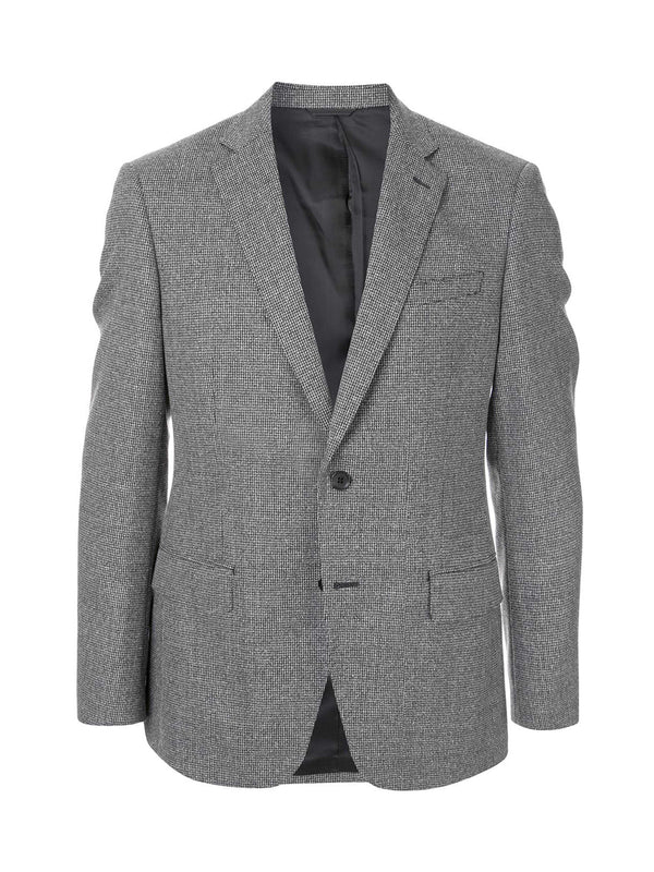 Single Breasted Micro Pattern Blazer