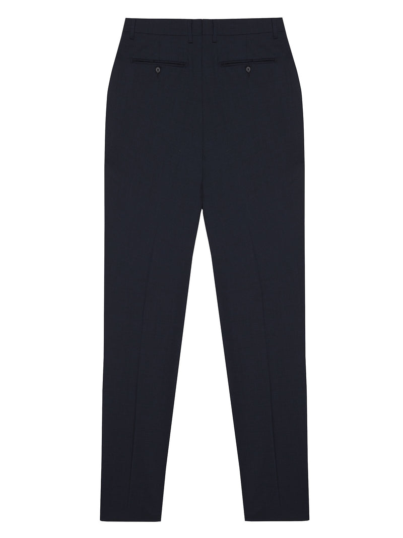 Long Wool Trousers