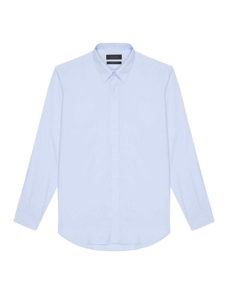 Long-Sleeved Buttoned Shirt