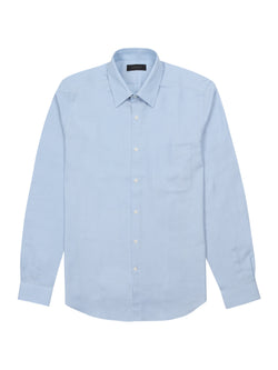 patch-pocket long sleeved shirt