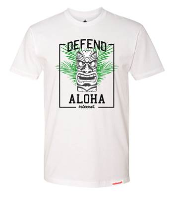 Defend Aloha Tees (Tan)