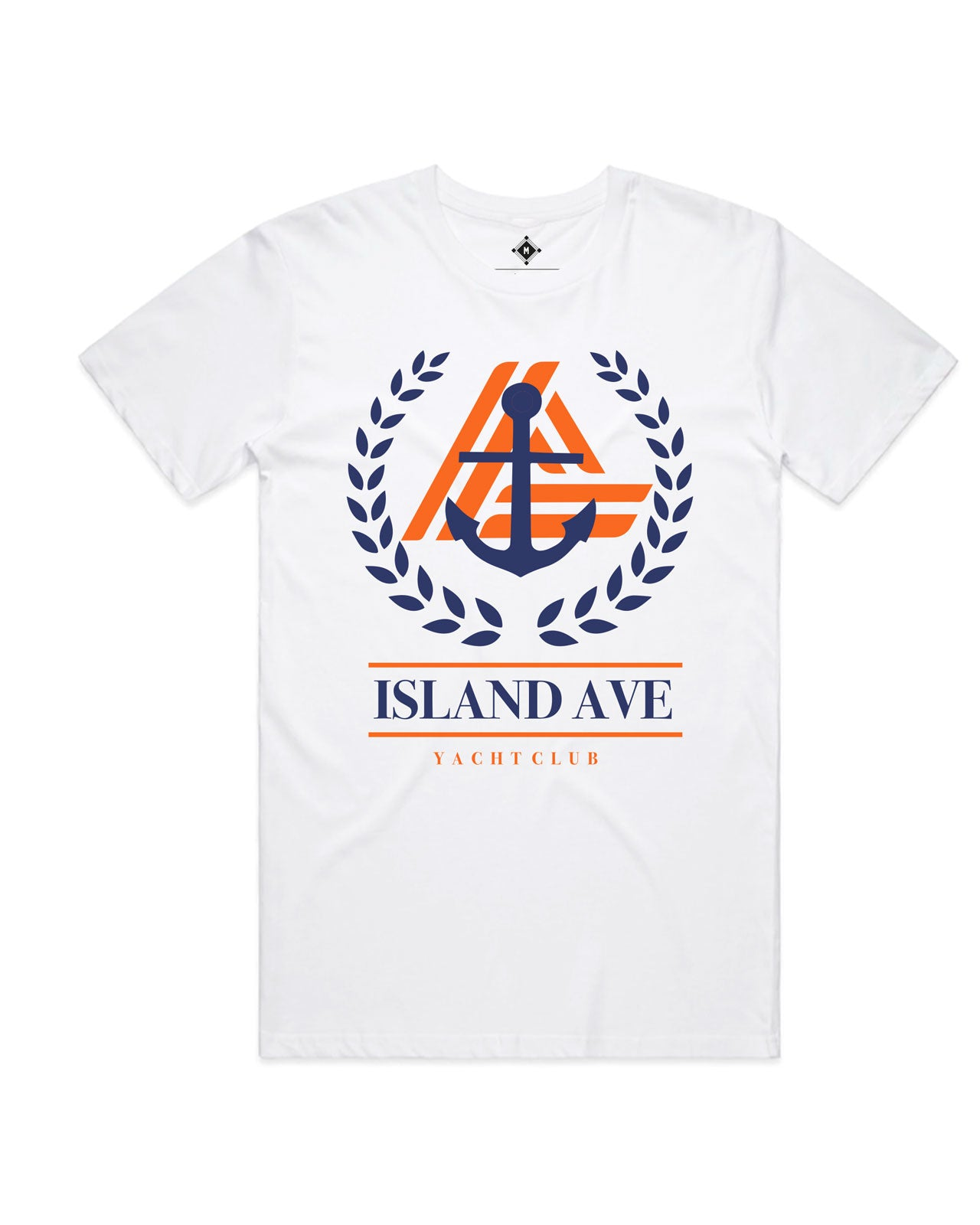 Yacht Club Tees (White)