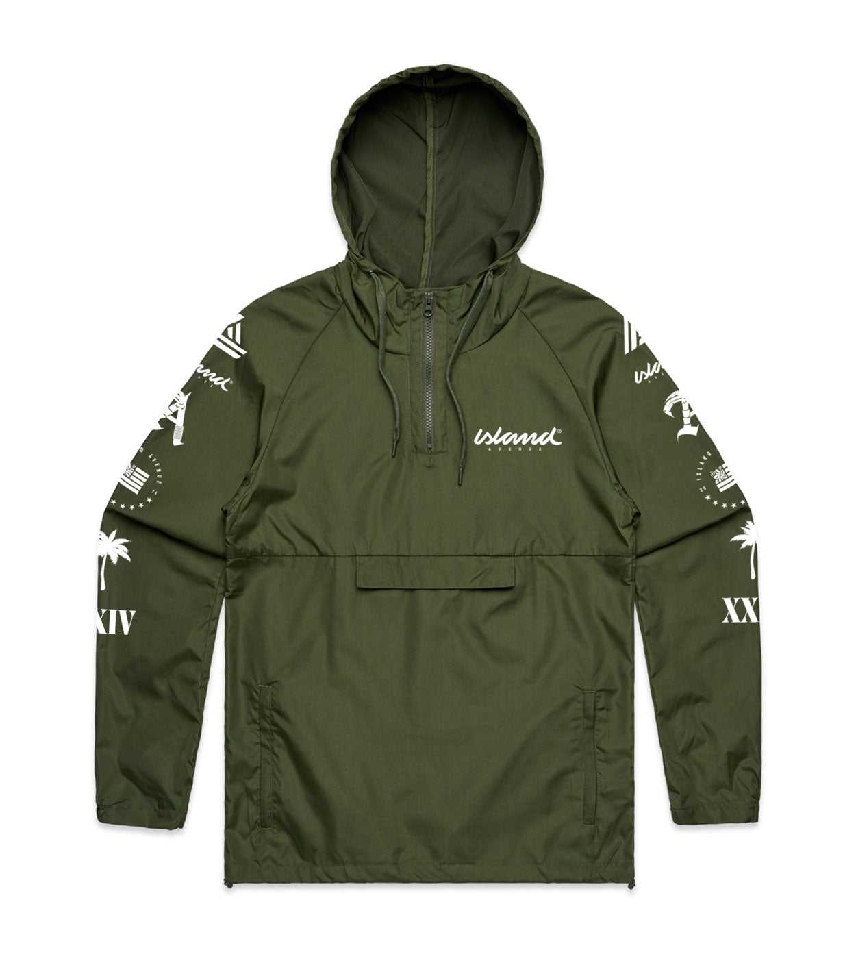 Global Windbreaker (Olive Green)
