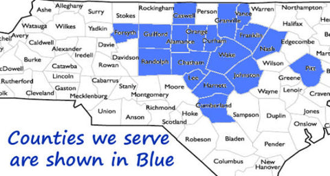 counties we serve