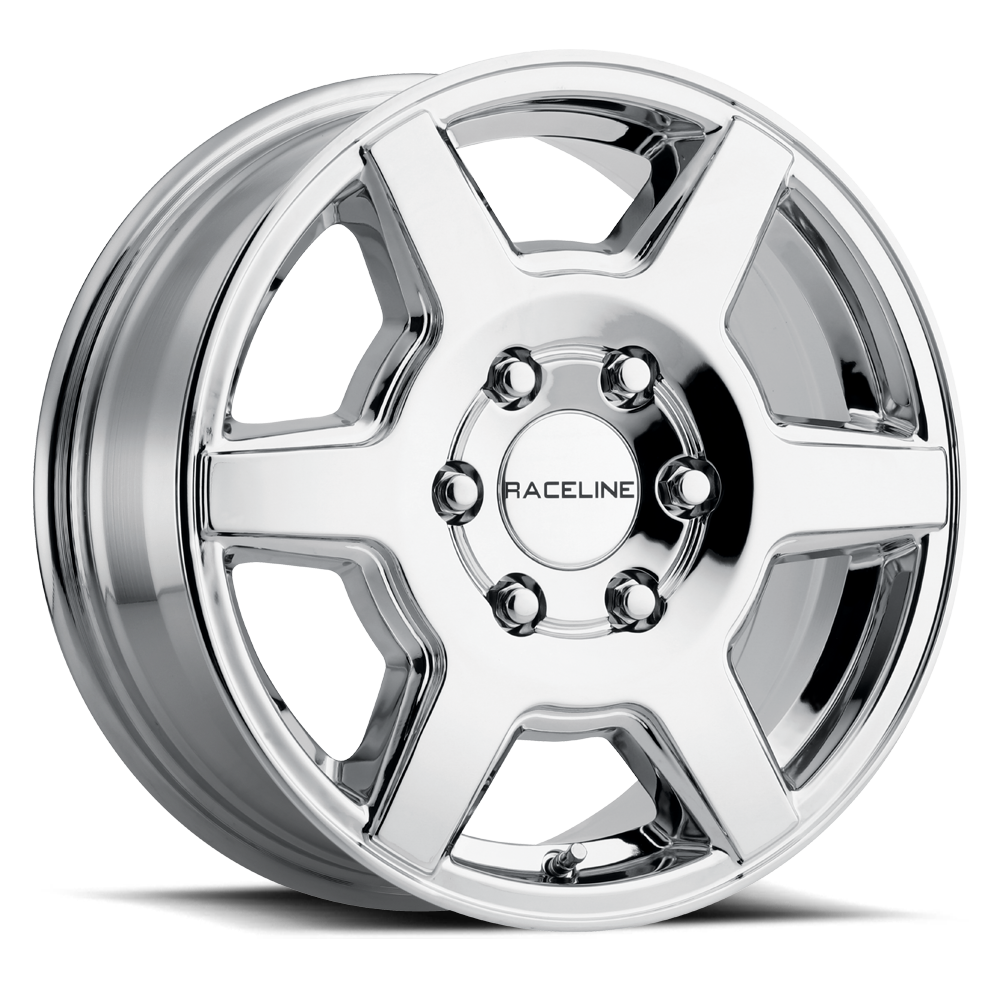 SURGE CHROME 16X6.5 6X130 +45mm***