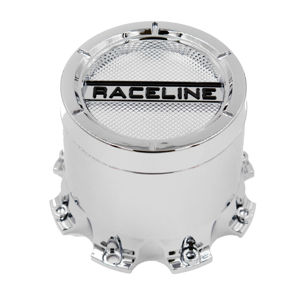 CPR-938C-80XL Raceline Chrome XL Tall Cap (Fits 8 Lug)